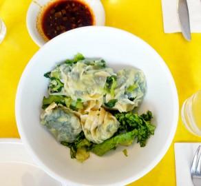 Peashoot dumplings
