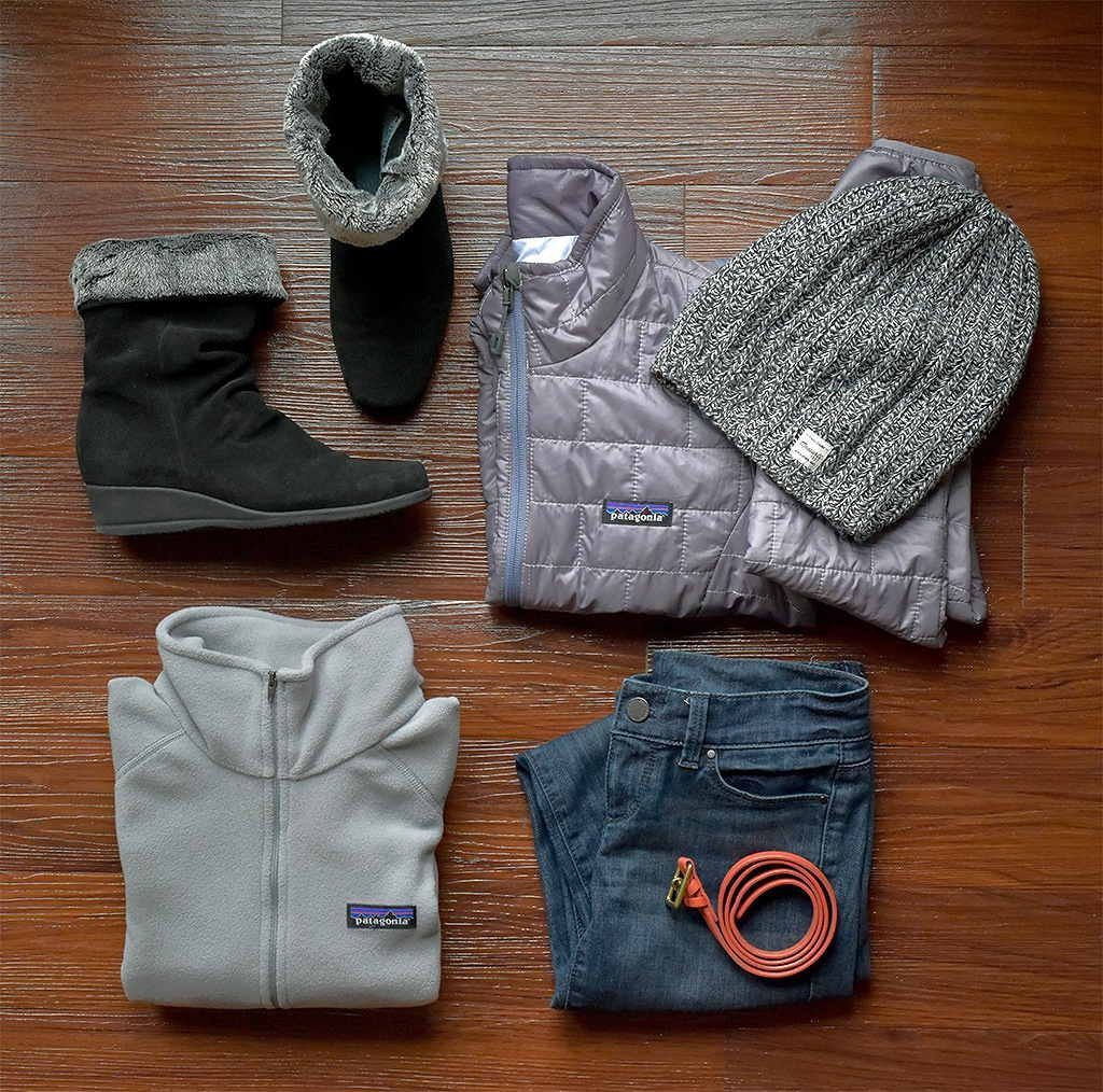 Patagonia party outfit