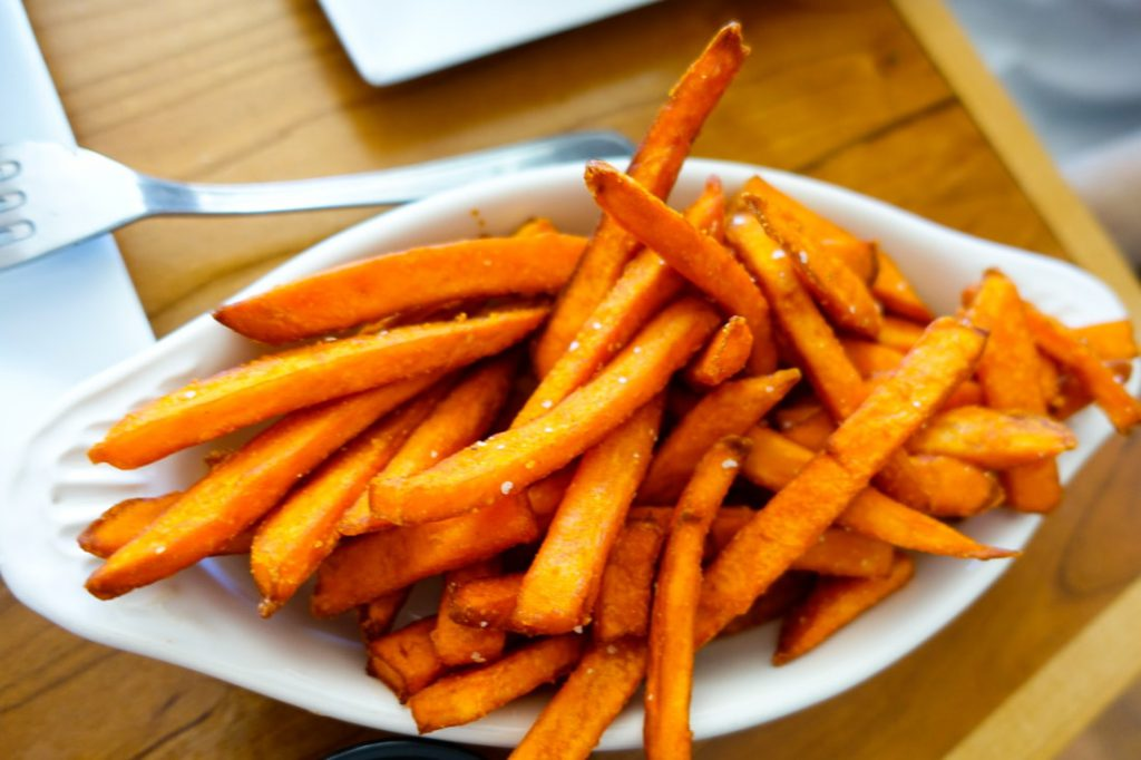Sweet potato fries at Royal