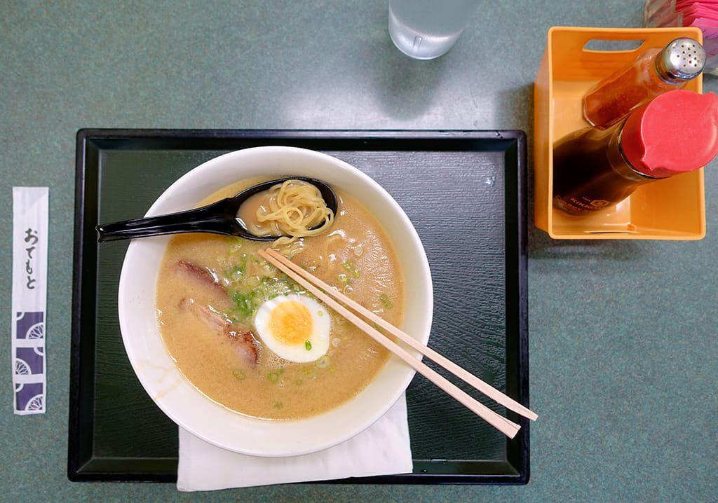 Tonkatsu ramen at Sakura House
