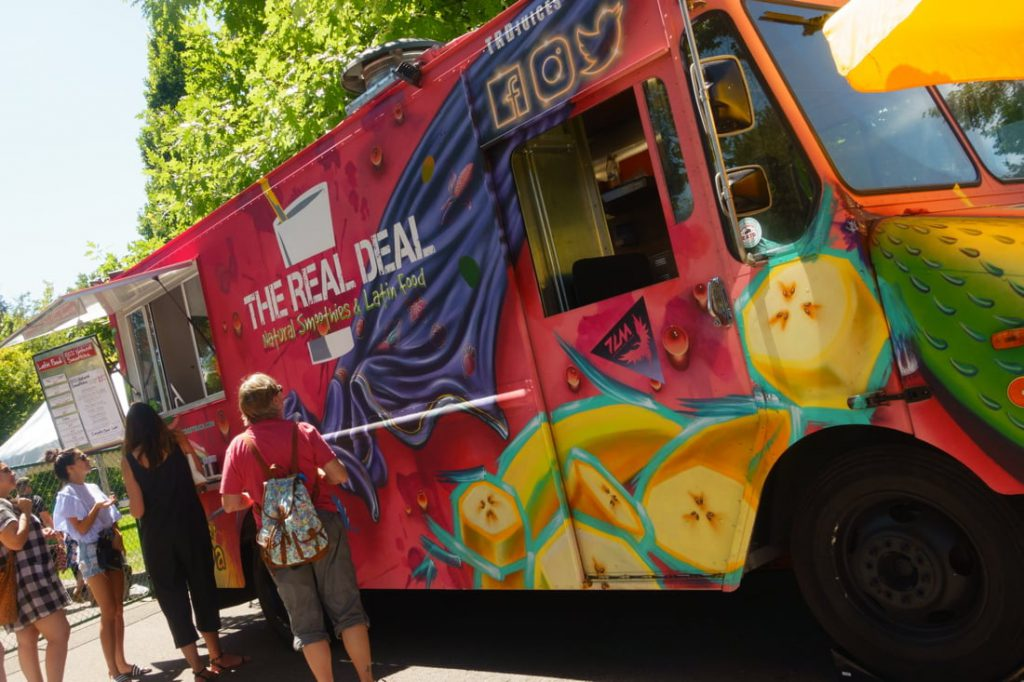 The Real Deal food truck