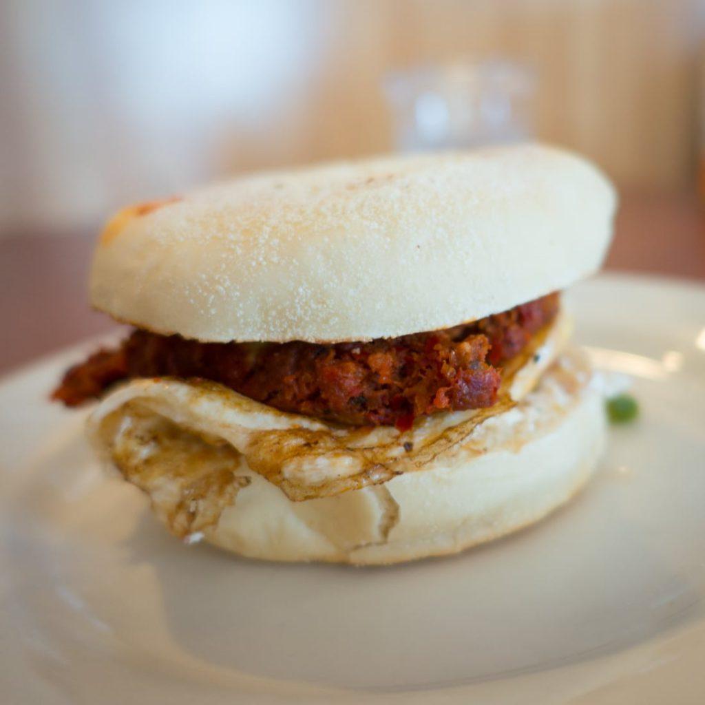 High Rise Bakery's Gomez breakfast sandwich