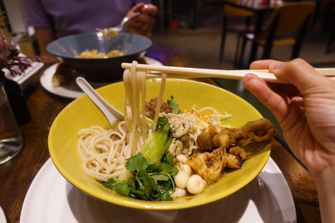 Pop's Place Thai Noodle Bowl
