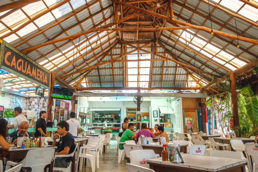 Los Aguachiles restaurant Tulum