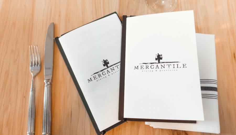 The Mercantile menu