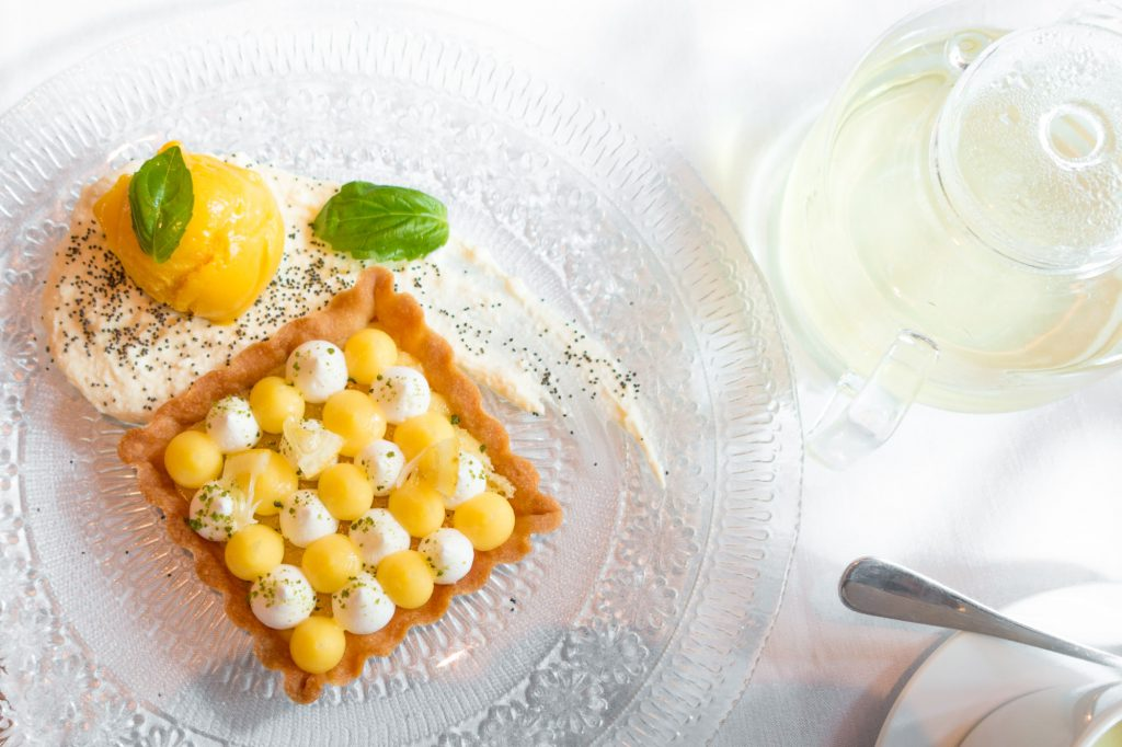 Lemon Tart at Quality Italian