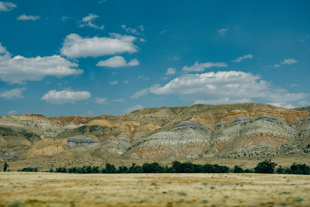 Wyoming badlands