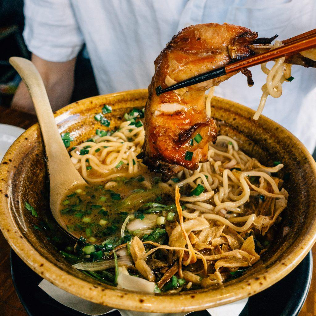 Paitan soy sauce from Nojo Ramen Tavern