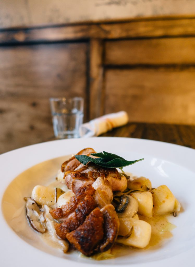Duck Breast with gnocchi from Bremen's