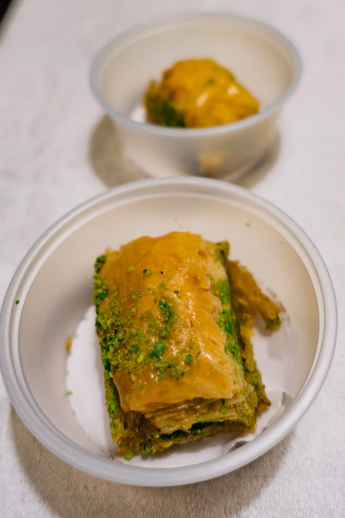 Baklava from Turkish Chef