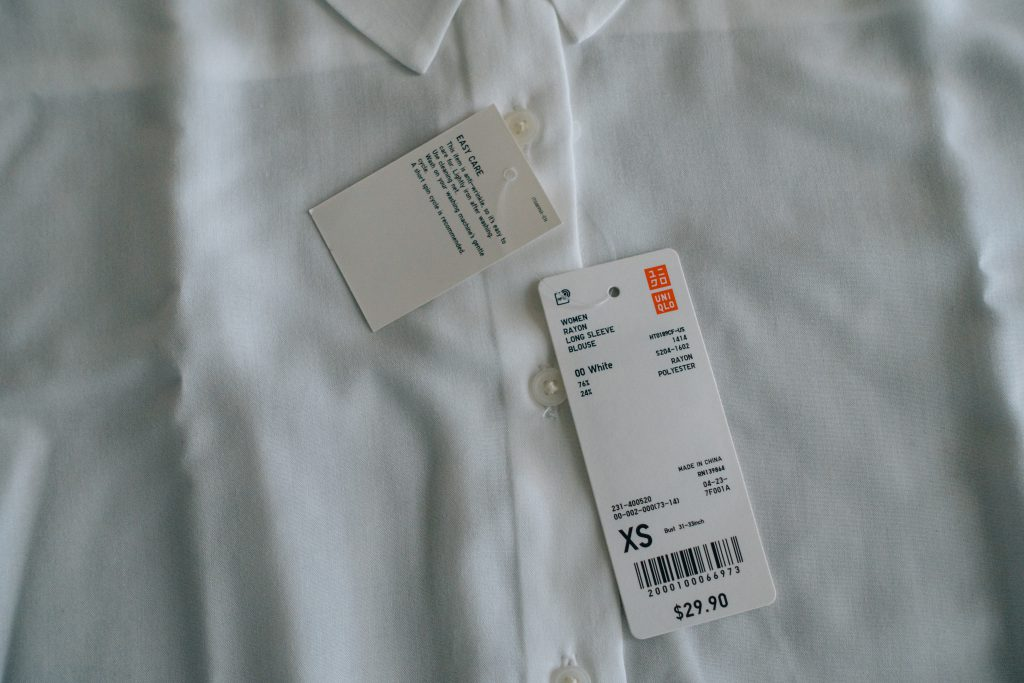 UNIQLO shirt XS US