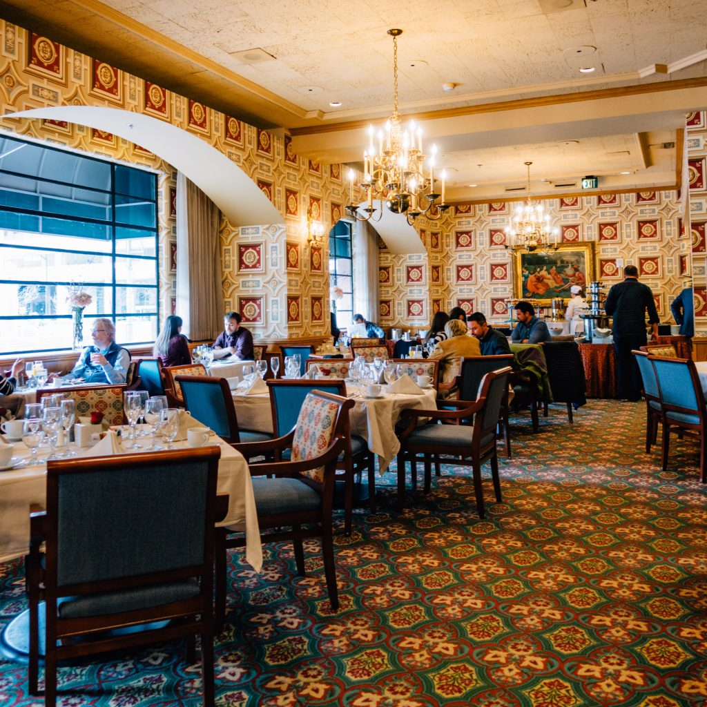 Ellyngton's during Brown Palace Sunday brunch