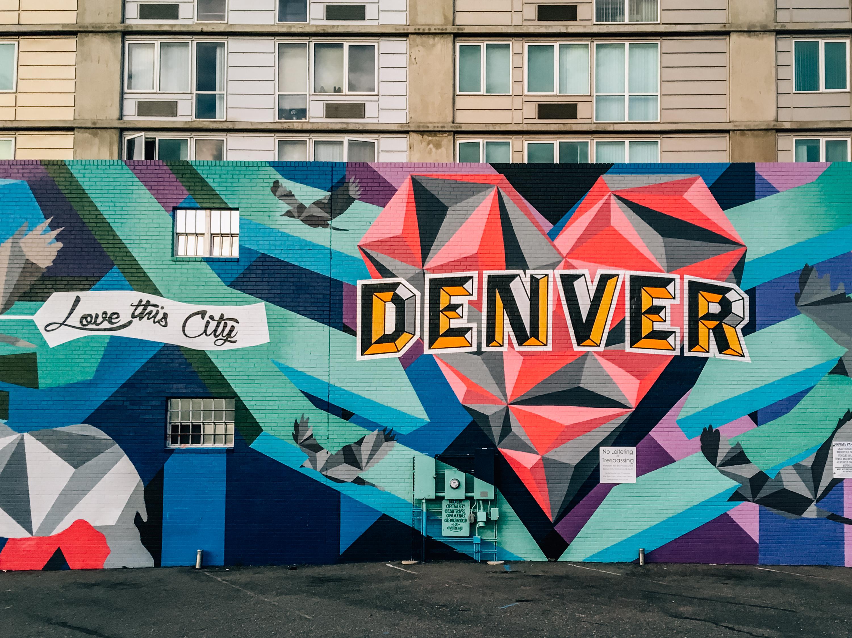 Love Denver mural