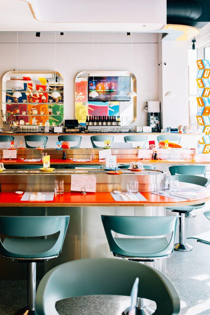 Sushi-rama DTC interior