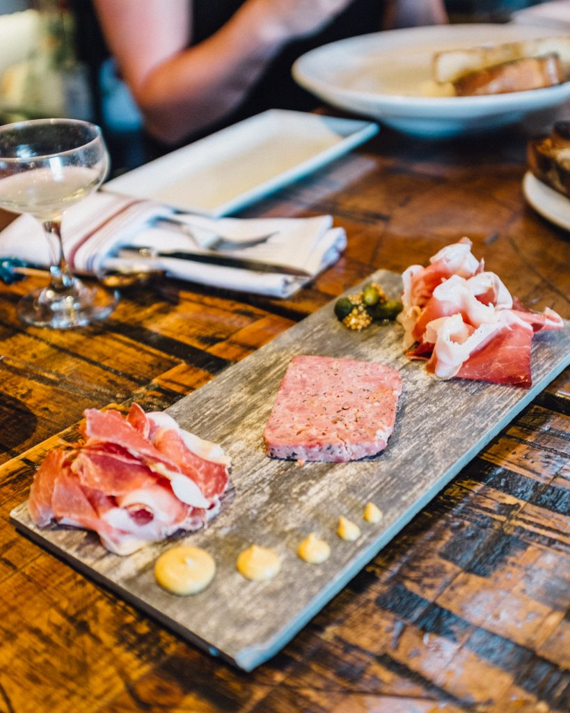 Charcuterie Trio at Blackbelly in Boulder, CO