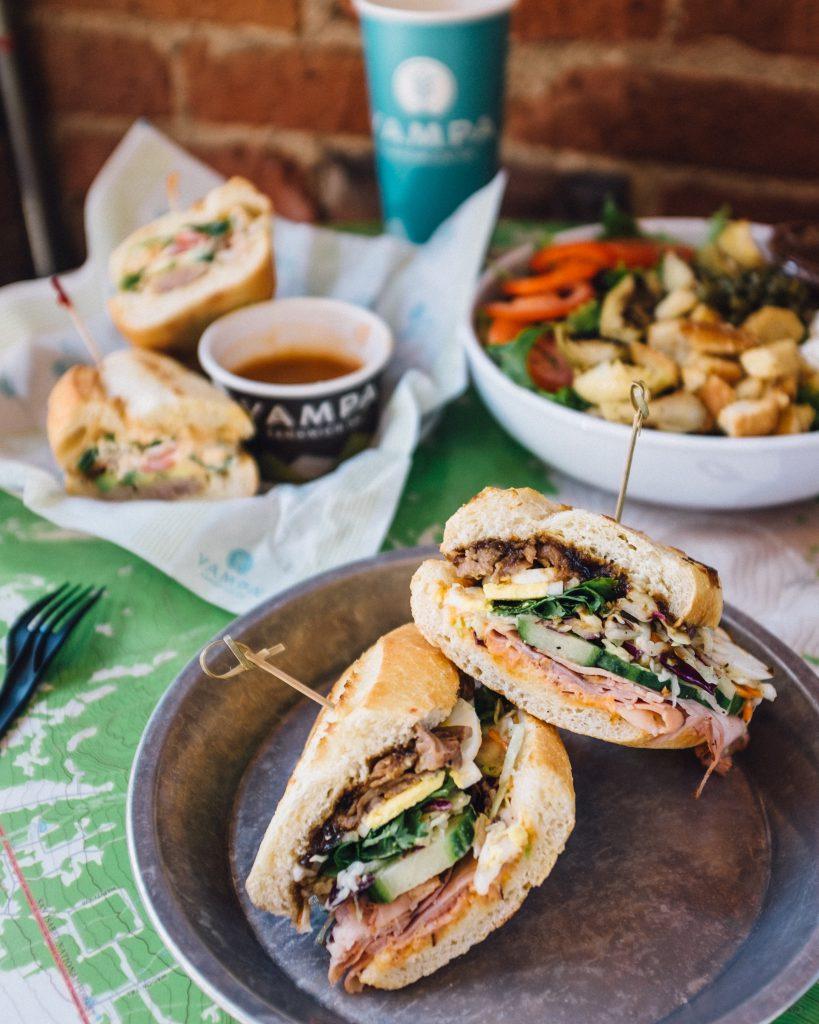 Banh Mi sandwich at Yampa Sandwich Company in LoDo