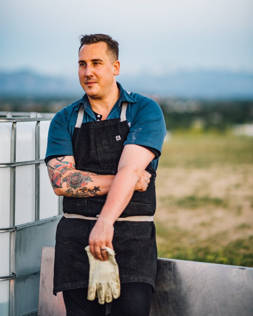 Chef Eric Lee of Acreage at Stem Ciders