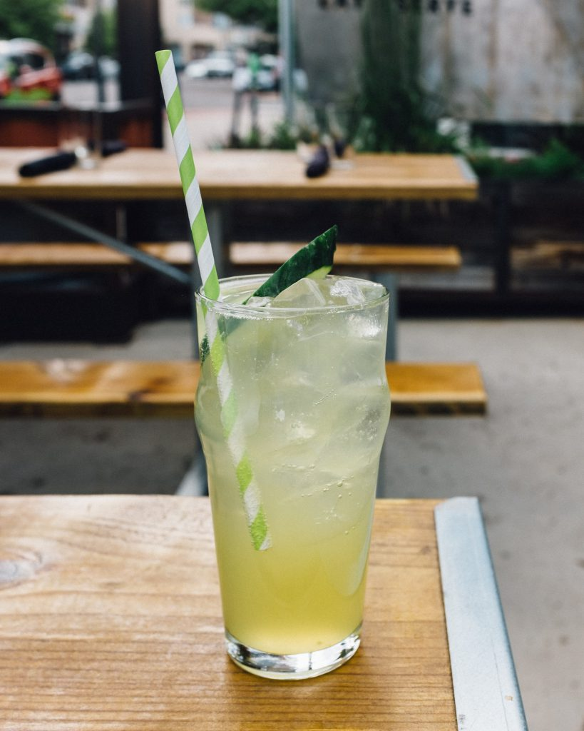 Cucumber Soda at Ace Eat Serve