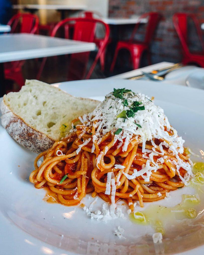 Spaghetti at Difrancos