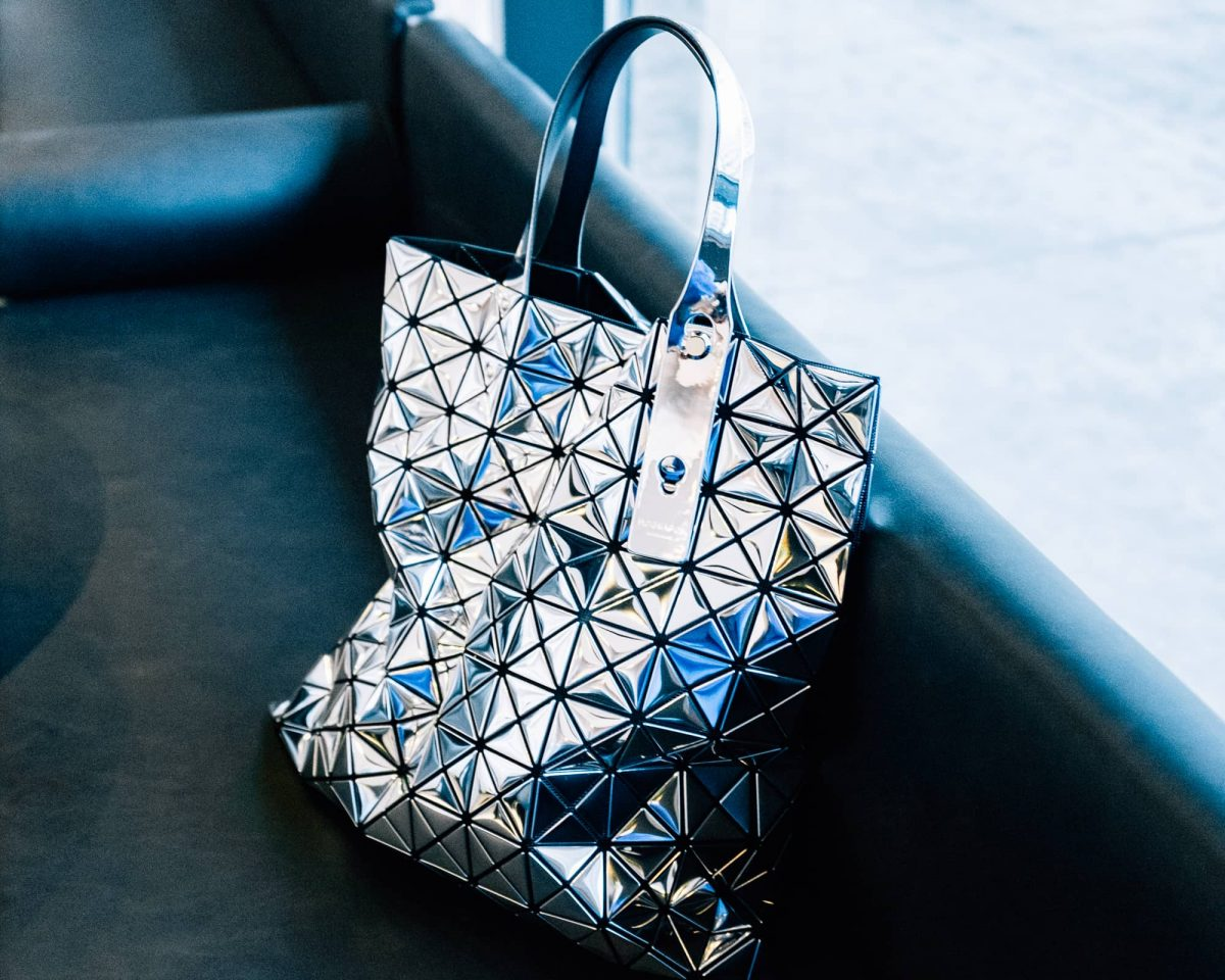 Bao Bao bag in platinum