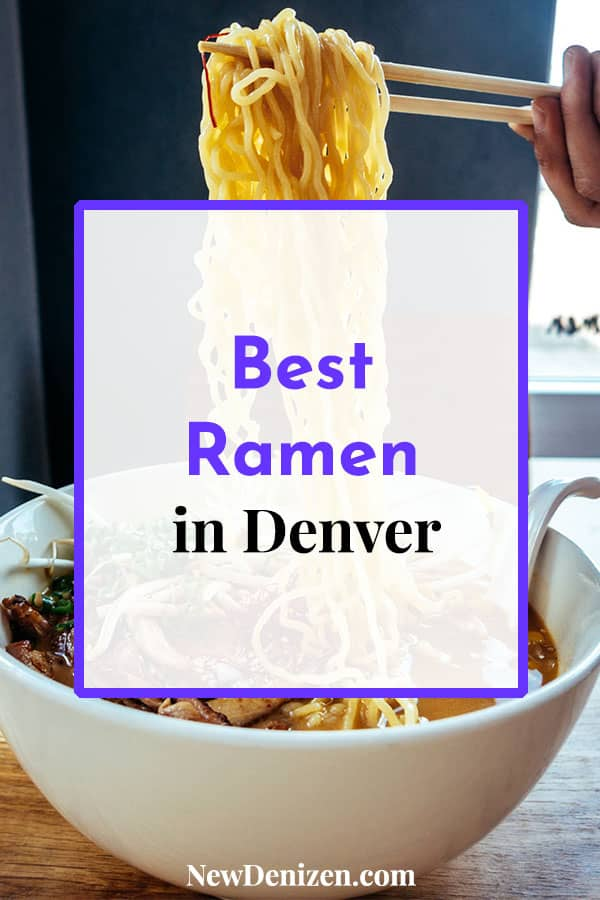Best Ramen Denver pin