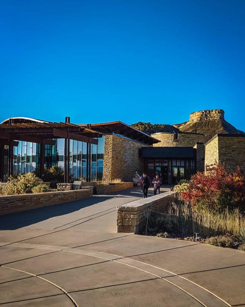 Visitors Center at Mesa Verde National Park