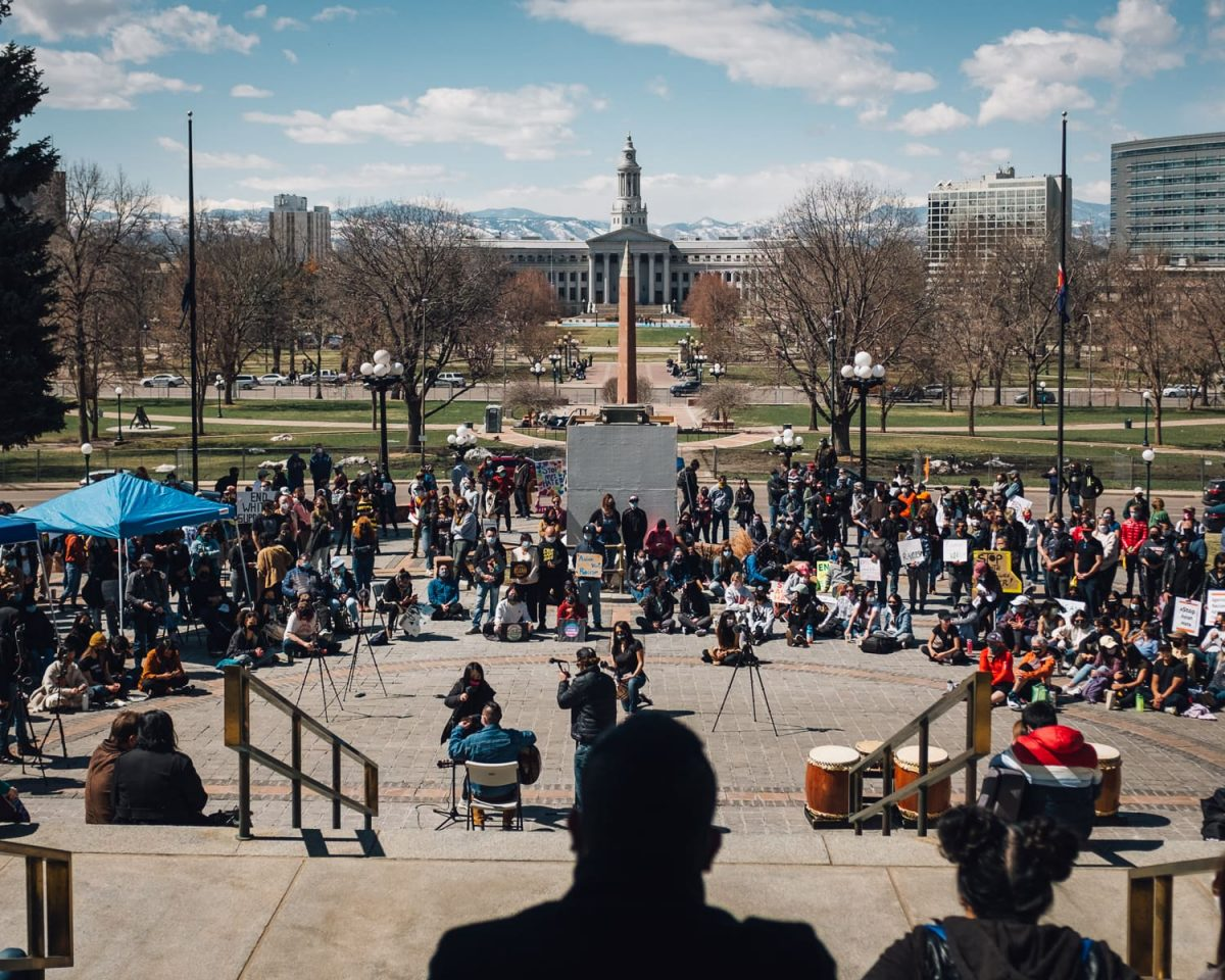 Denver Stop AAPI Hate Rally in Civic Park