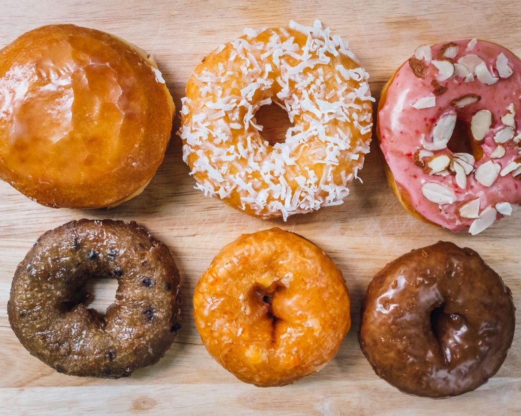 Selection of donuts from Baked N' Denver
