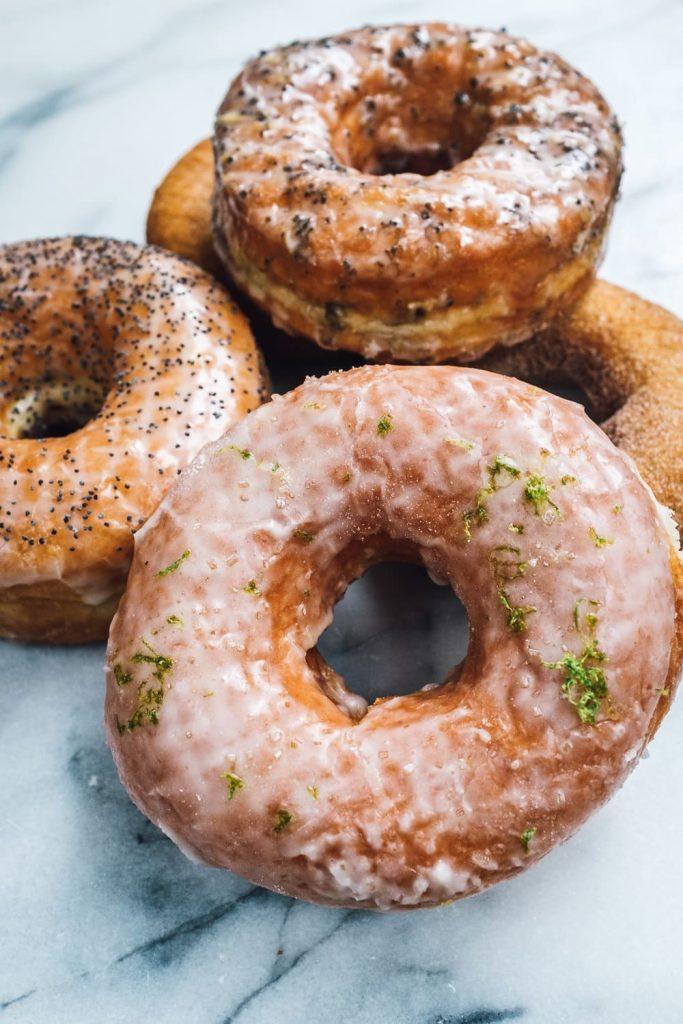 Raised Lemongrass Ginger donut