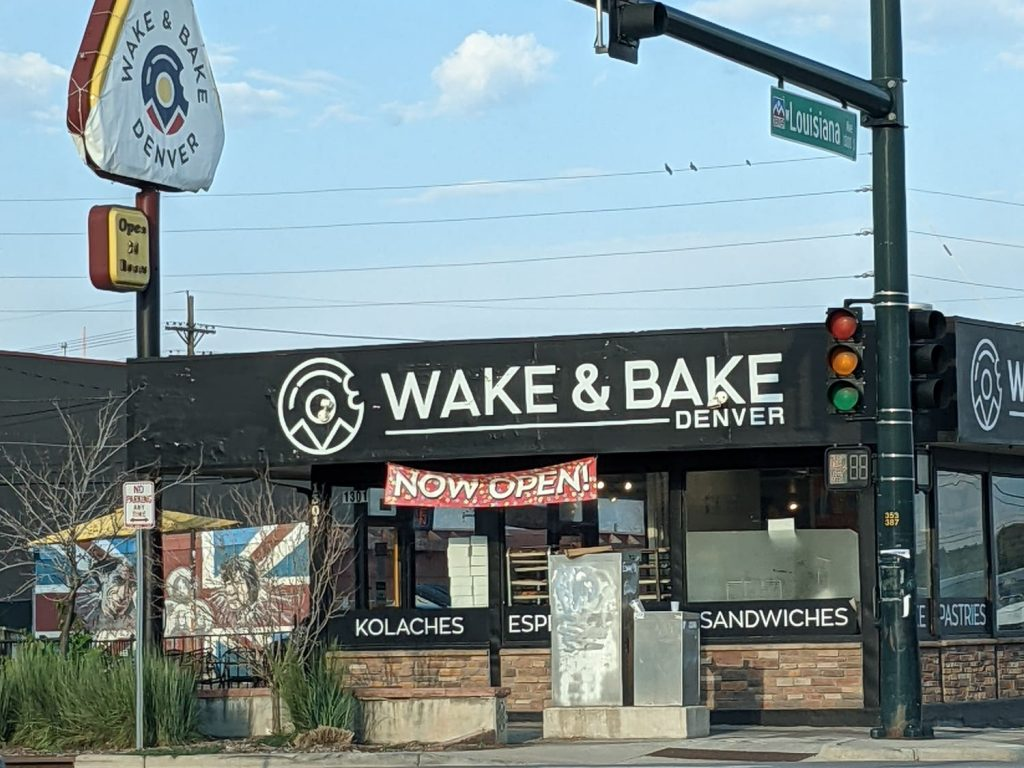 Exterior of Wake N' Bake